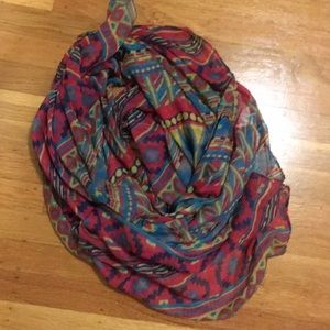 Printed sheer scarf from forever21